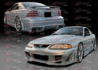 Mustang - Body Kits - AIT Racing - Ford Mustang AIT Racing Vascious Style B-Magic Complete Body Kit - FM94BMVASCK