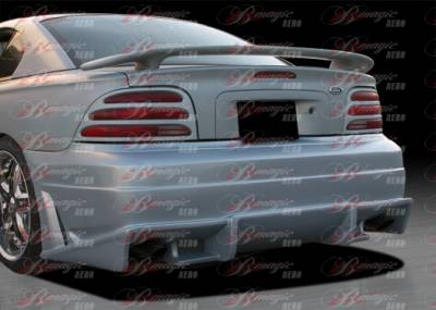 Mustang - Rear Bumper - AIT Racing - Ford Mustang AIT Racing Vascious Style B-Magic Rear Bumper - FM94BMVASRB
