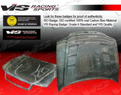 A4 - Hoods - VIS Racing - Audi A4 VIS Racing Terminerator Black Carbon Fiber Hood - 96AUA44DTM-010C