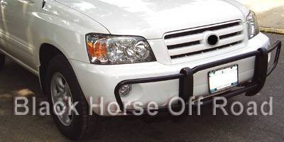 Grilles - Grille Guard - Black Horse - Toyota Highlander Black Horse Front Runner Guard