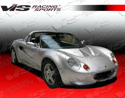 Elise - Hoods - VIS Racing - Lotus Elise VIS Racing Carbon Fiber Light Weight Hood - 96LTELS2DOE-010C