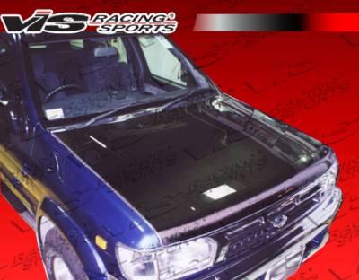 Pathfinder - Hoods - VIS Racing - Nissan Pathfinder VIS Racing OEM Black Carbon Fiber Hood - 96NSPAT4DOE-010C