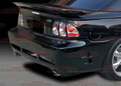 Mustang - Rear Bumper - AIT Racing - Ford Mustang AIT Racing SLN-2 Style Rear Bumper - FM94HISLN2RB