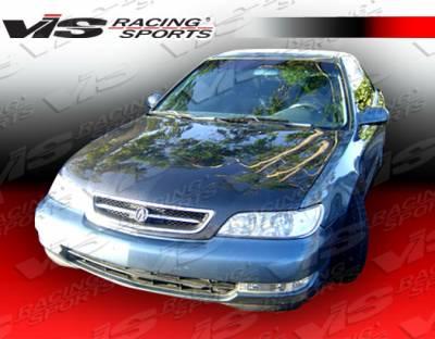 CL - Hoods - VIS Racing - Acura CL VIS Racing OEM Style Carbon Fiber Hood - 97ACCL2DOE-010C