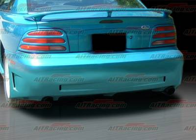 Mustang - Rear Bumper - AIT Racing - Ford Mustang AIT Racing Stallion Style Rear Bumper - FM94HISTARB