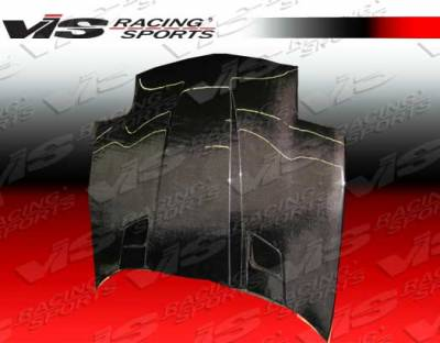 Corvette - Hoods - VIS Racing - Chevrolet Corvette VIS Racing Penta Black Carbon Fiber Hood - 97CHCOR2DPEN-010C