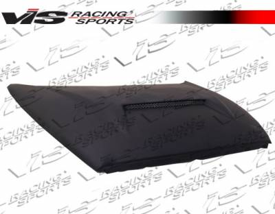 Dakota - Hoods - VIS Racing - Dodge Dakota VIS Racing Fiberglass Outlaw Type 1 Hood - 97DGDAK2DOL1-010