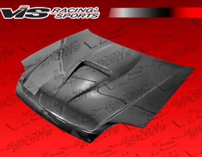 Prelude - Hoods - VIS Racing - Honda Prelude VIS Racing G Force Black Carbon Fiber Hood - 97HDPRE2DGF-010C