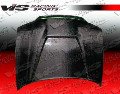 S4 - Hoods - VIS Racing - Audi S4 VIS Racing Invader Type 6 Carbon Fiber Hood - 98AUS44DVS-010C