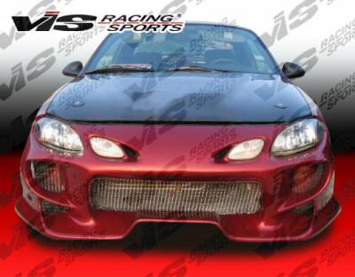 ZX2 - Hoods - VIS Racing. - Ford ZX2 VIS Racing OEM Black Carbon Fiber Hood - 98FDZX22DOE-010C