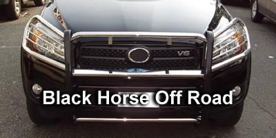 Grilles - Grille Guard - Black Horse - Toyota Rav 4 Black Horse Modular Push Bar Guard