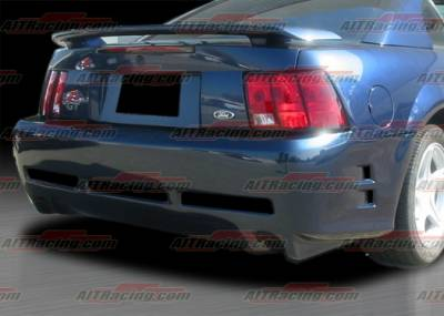 Mustang - Rear Bumper - AIT Racing - Ford Mustang AIT Racing Stallion Style Rear Bumper - FM99HISLNRB