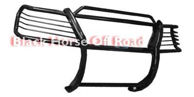 Grilles - Grille Guard - Black Horse - Lexus RX Black Horse Push Bar Guard