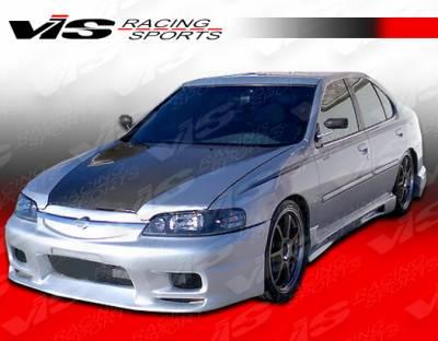 Altima - Hoods - VIS Racing - Nissan Altima VIS Racing OEM Black Carbon Fiber Hood - 98NSALT4DOE-010C