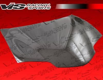 Firebird - Hoods - VIS Racing - Pontiac Firebird VIS Racing OEM Black Carbon Fiber Hood - 98PTFIR2DOE-010C