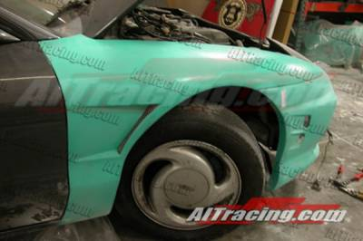 Probe - Fenders - AIT Racing - Ford Probe AIT Racing D1 Style Front Fenders - FP93HID1SF