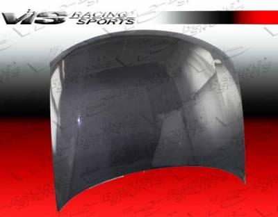 Passat - Hoods - VIS Racing - Volkswagen Passat VIS Racing OEM Black Carbon Fiber Hood - 98VWPAS4DOE-010C