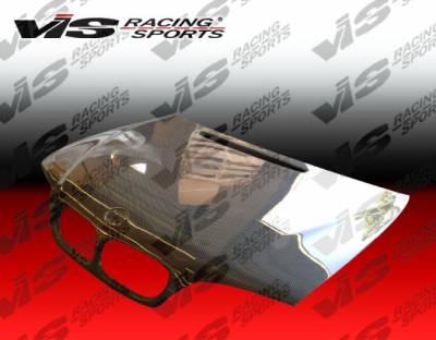 3 Series 4Dr - Hoods - VIS Racing - BMW 3 Series 4DR VIS Racing OEM Black Carbon Fiber Hood - 99BME464DOE-010C