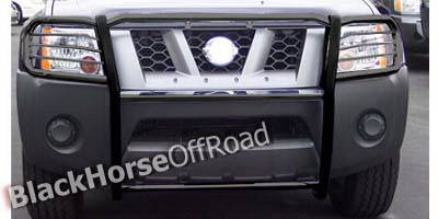 Grilles - Grille Guard - Black Horse - Nissan Xterra Black Horse Push Bar Guard