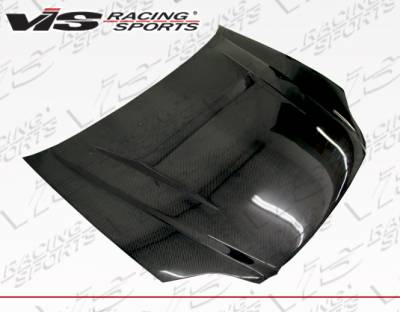 Civic HB - Hoods - VIS Racing - Honda Civic VIS Racing N1 Carbon Fiber Hood - 99HDCVC2DN1-010C