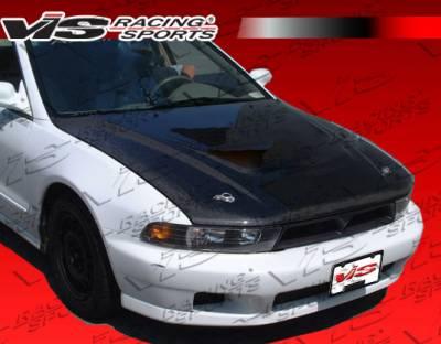 Galant - Hoods - VIS Racing - Mitsubishi Galant VIS Racing OEM Black Carbon Fiber Hood - 99MTGAL4DOE-010C
