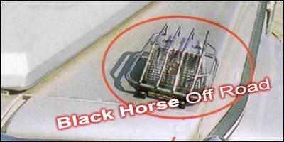 Headlights & Tail Lights - Corner Lights - Black Horse - Mercedes-Benz G Class Black Horse Front Signal Light Guards
