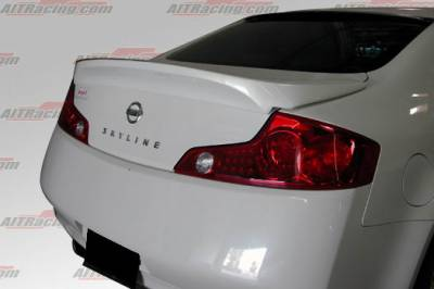 Spoilers - Custom Wing - AIT Racing - Infiniti G35 2DR AIT Racing Spec-I Style Rear Wing - G3503HIINGRW