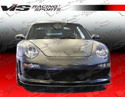 911 - Hoods - VIS Racing - Porsche 911 VIS Racing G Tech Black Carbon Fiber Hood - 99PS9962DGTH-010C