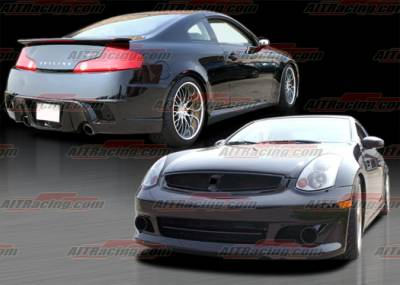 G35 2Dr - Body Kits - AIT Racing - Infiniti G35 2DR AIT Racing Spec-K Style Complete Body Kit - G3503HIKENCK