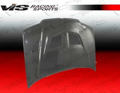 Jetta - Hoods - VIS Racing - Volkswagen Jetta VIS Racing EVO Black Carbon Fiber Hood - 99VWJET4DEV-010C