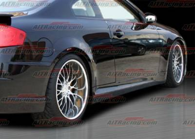 G35 2Dr - Side Skirts - AIT Racing - Infiniti G35 AIT Racing Spec-K Style Side Skirts - G3503HIKENSS2