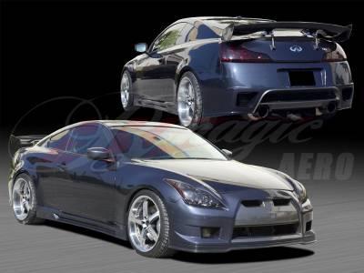 G37 - Body Kits - AIT Racing - Infiniti G37 AIT Racing GT-R Style Body Kit - G3708BMGTRCK2