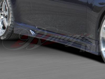 G37 - Side Skirts - AIT Racing - Infiniti G37 AIT Racing GT-R Style Side Skirts - G3708BMGTRSS2