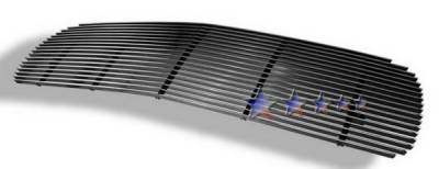 Grilles - Custom Fit Grilles - APS - GMC Sierra APS Billet Grille - without Logo Opening - Upper - Aluminum - G65704A