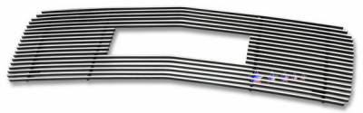 Grilles - Custom Fit Grilles - APS - GMC CK Truck APS Billet Grille - Upper - Stainless Steel - G65714S