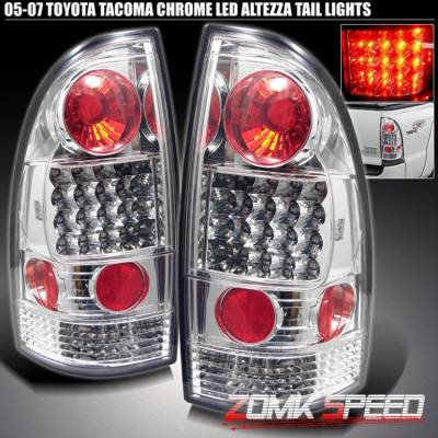 Headlights & Tail Lights - Led Tail Lights - X3 - LED Tail Chrome