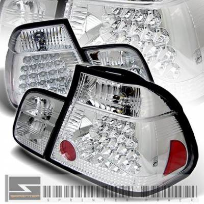 Headlights & Tail Lights - Led Tail Lights - X3 - Chrome LED tail G2