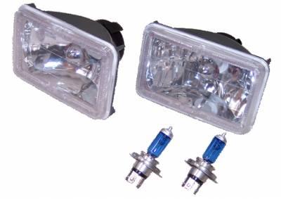 Headlights & Tail Lights - Headlights - Custom - Euro Diamond Xenon Headlights