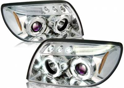 Headlights & Tail Lights - Headlights - Custom - Clear LED Pro Headlights