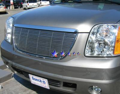 Grilles - Custom Fit Grilles - APS - GMC Yukon APS Billet Grille - without Logo Opening - Upper - Aluminum - G65779A