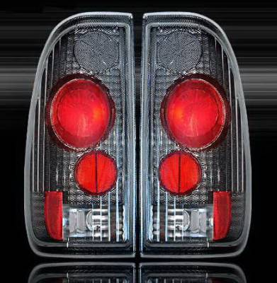 Headlights & Tail Lights - Led Tail Lights - WinJet - Ford Expedition WinJet Altezza Taillights - WJ20-0018-06
