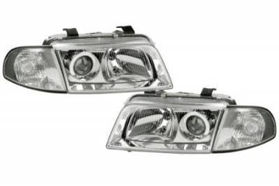 Headlights & Tail Lights - Headlights - Custom - Euro Clear Pro Headlights