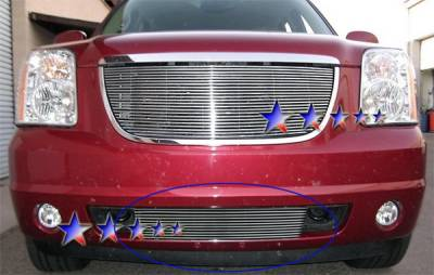 Grilles - Custom Fit Grilles - APS - GMC Yukon APS Billet Grille - Bumper - Stainless Steel - G65782S
