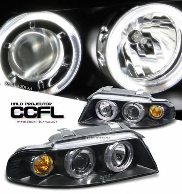 Headlights & Tail Lights - Headlights - CCFL - CCFL Dual Halo Headlights