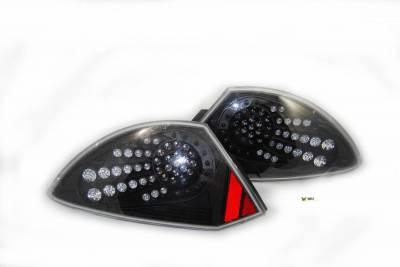 Headlights & Tail Lights - Led Tail Lights - WinJet - Mitsubishi Eclipse WinJet LED Taillights - WJ20-0040-04