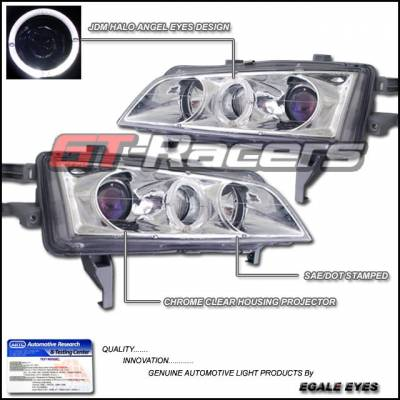 Headlights & Tail Lights - Headlights - Custom - JDM Angel Eyes Halo Pro Headlights