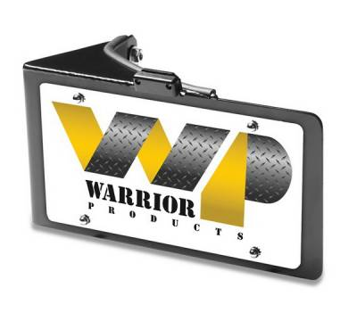 Accessories - License Plate Frames - Warrior - Jeep Wrangler Warrior Replacement License Plate Bracket with LED Light - 1563