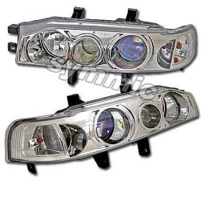 Headlights & Tail Lights - Headlights - Custom - Blue Pro Headlights