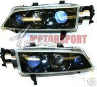 Headlights & Tail Lights - Headlights - Custom - Black Ion Triple Pro Headlights