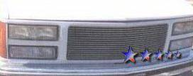 Grilles - Custom Fit Grilles - APS - GMC Yukon APS Billet Grille - Upper - Aluminum - G85010A
